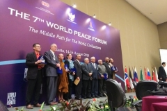 DR 7th World Peace Forum Jakarta Indonesia August 14-16 2018