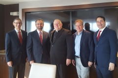 DR - AJC South Florida-Miami Board with Archbishop Thomas Wenski January 2019