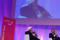Rabbi Rosen and Sheikh Abdallah ibn Bayyah - November 20, 2013.