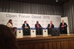 "World Economic Forum panel ""Religion - a Pretext for Conflict"""