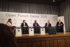 "World Economic Forum panel ""Religion - a Pretext for Conflict"""