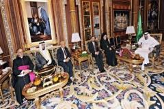 David Rosen and King Abdullah bin Abdul Aziz Casablanca - September 2012