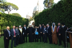 Israeli Delegation at Prayer for Peace - Vatican, June 2, 2014 (1)