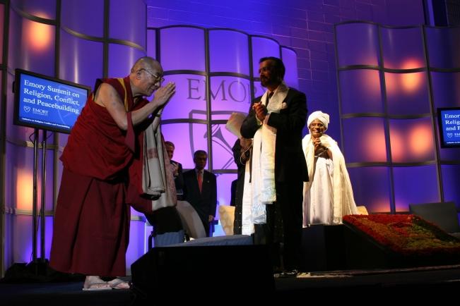 DRosen-Dalai Lama Emory U Oct 2007